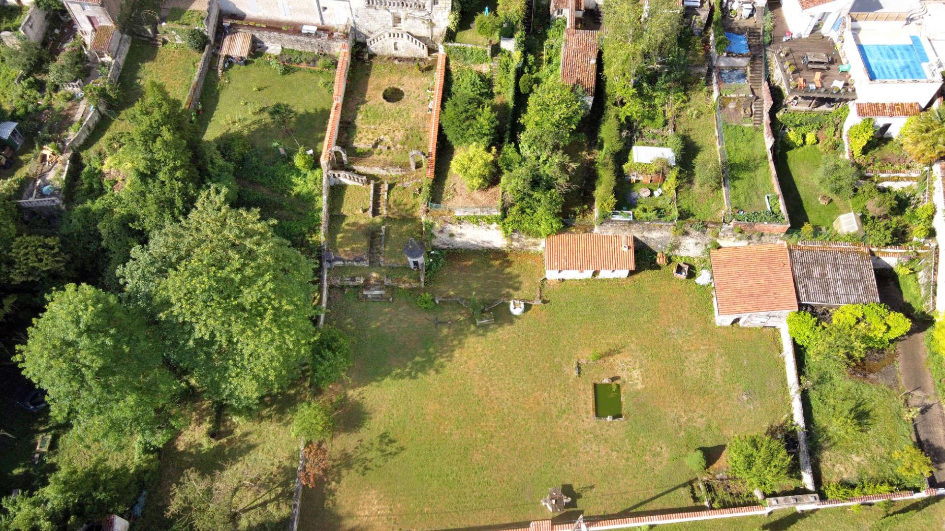 jardin La Belle Étoile vue drone